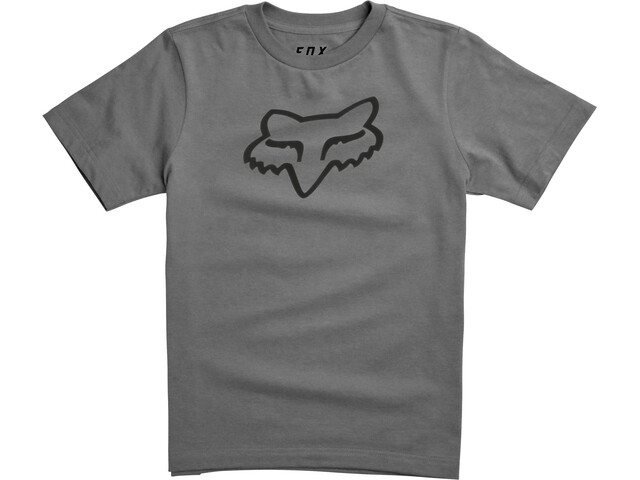 Fox Legacy SS Tee Youth, heather graphite